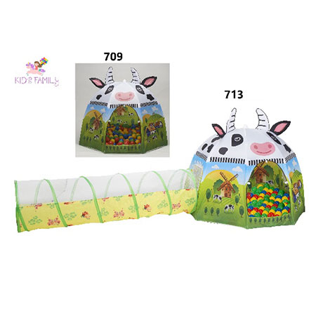 เล่น Tent Tunnel Ball Pit - 709. 713