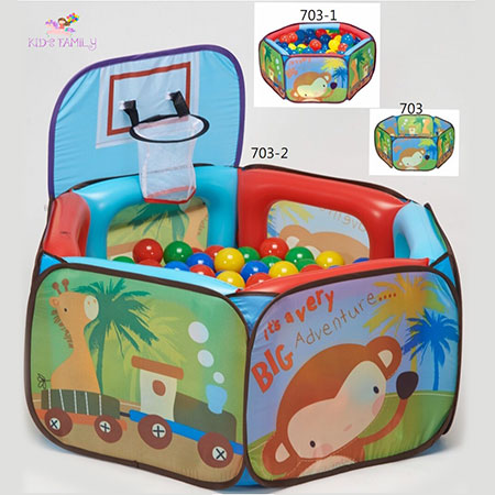 Piscina De Bolas Inflable - 703. 703-1. 703-2