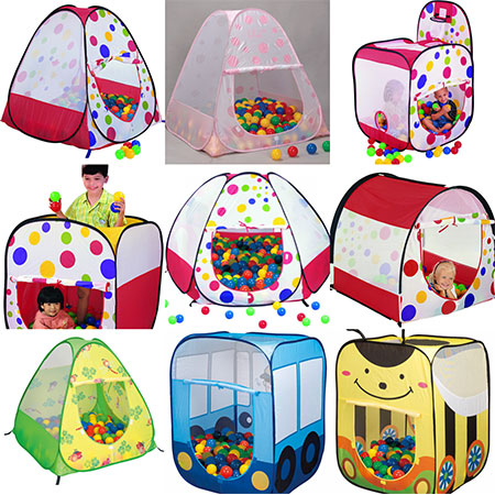 Pop Up Playhouse Tent - Original Styles